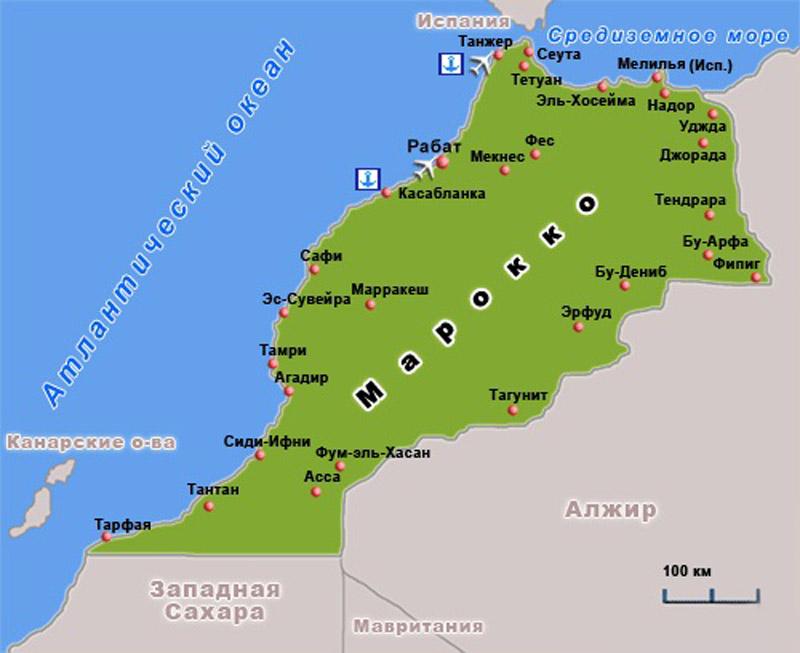 марокко экскурсионные туры